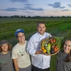 Lafayette College's 3 acre farm provides produce to dining services