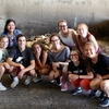 OS students touring Gundersen biodigester facility