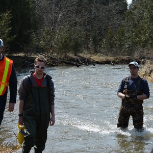The Atlantic Salmon Restoration Program at Fleming College, Lindsay, Ontario