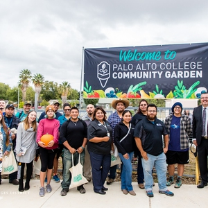 Community Garden Group Photo
