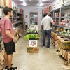 TUFU produce inside The 12th Can Food Pantry