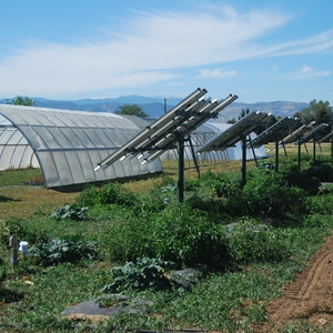 8.2 kW Ground mount array: ARDEC South - Ag Research Project