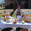 Tahir All Natural, a local and sustainable soap making company, came to sell their soaps at Earth Day Spring Fling