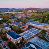 Renewable energy (PV panels on Clemons library) helps reduce UVA's nitrogen footprint, in addition to UVA's greenhouse gas footprint.