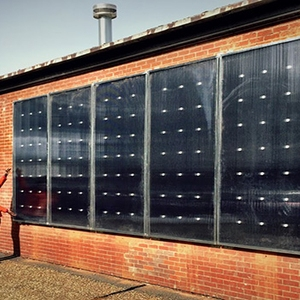 Solar Hot Air Heaters