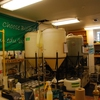 Original biodiesel reaction set-up from the first STEP class in 2007