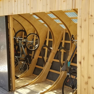 UMCycle Bike Kiosk and Cycle Plaza