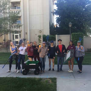 Santa Clara University - Gathering Fruit with the Glean Team