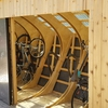 UMCycle storage structure created through the design build process